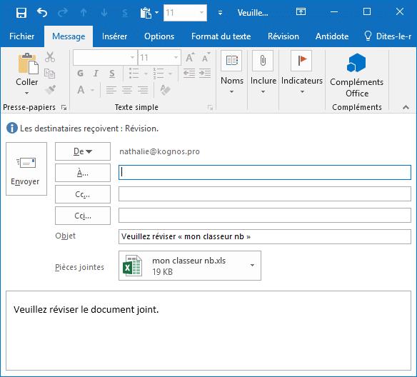 Image Partager un classeur Excel - Fonctionnalité perdue dans Office 365 (Excel 2016)