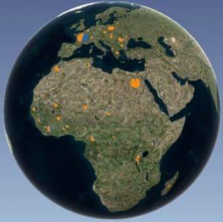 Image Excel - Cartographiez vos données avec 3D Maps